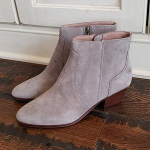Madewell The Western Boot in Suede  AE355
